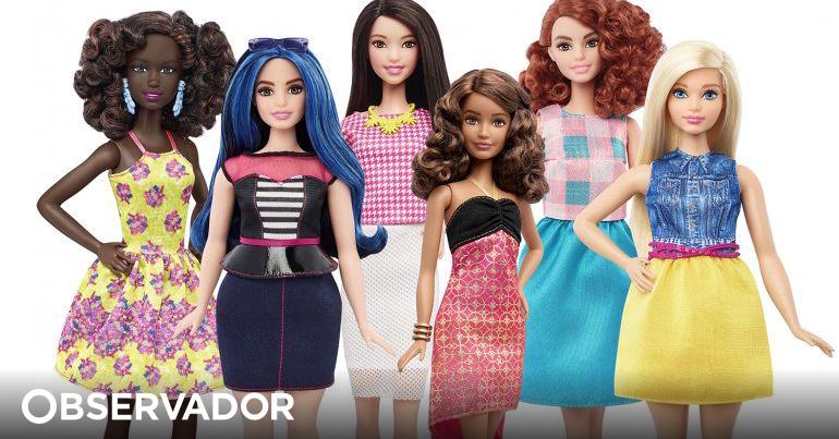 40dd125096 A Barbie ganhou medidas reais. E posou para a capa da revista Time –  Observador
