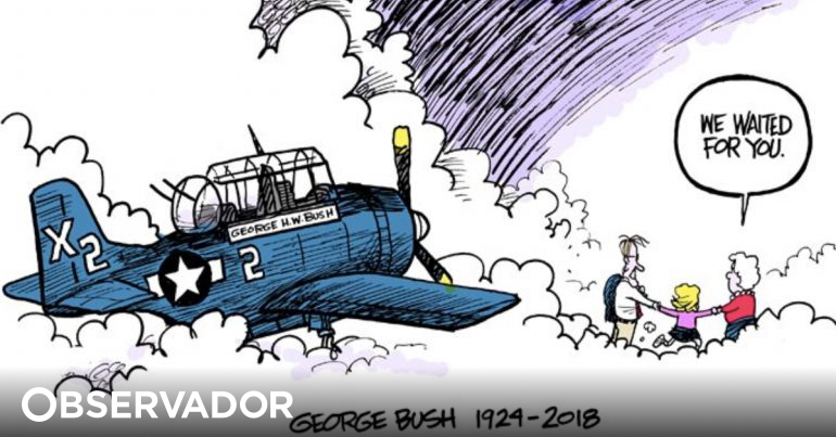We Have Been Waiting For You The Cartoon In Memory Of George Bush