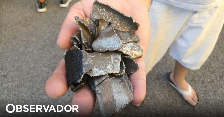 Choveram fragmentos de um avião que sobrevoava Roma. Boeing 787 forçado a aterrar de emergência