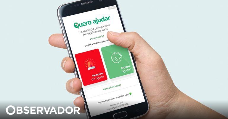 """""""Quero Ajudar"""": a app que quer ajudar Portugal em tempo de quarentena thumbnail"""