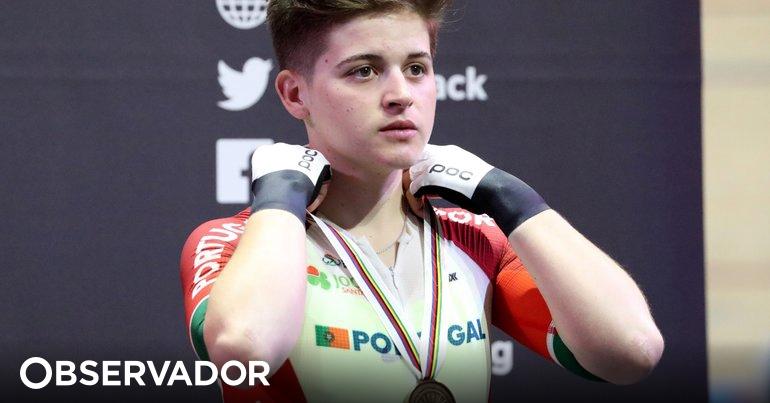 Lesão afasta Maria Martins de duas provas nos mundiais de ciclismo de pista