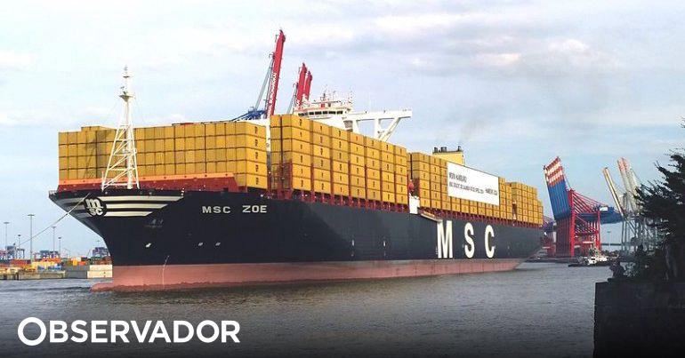 Sines recebeu o maior navio porta contentores alguma vez - Porta phon ikea ...