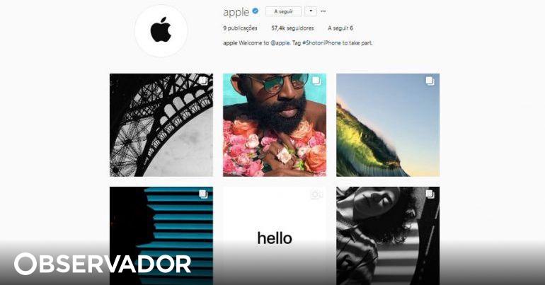 A Apple chegou ao Instagram e só se aceitam fotografias