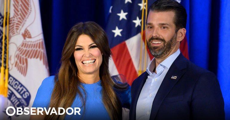 Namorada do filho de Donald Trump infetada com o novo coronavírus – Observador